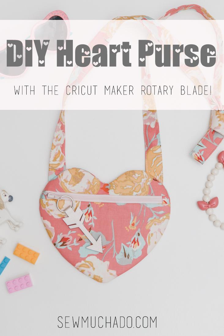 Heart Purse Sewing Pattern