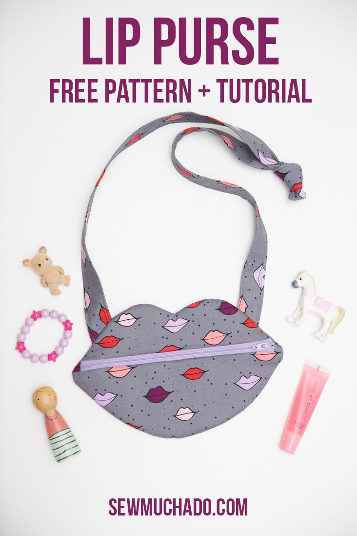 Lip Bag Free Pattern