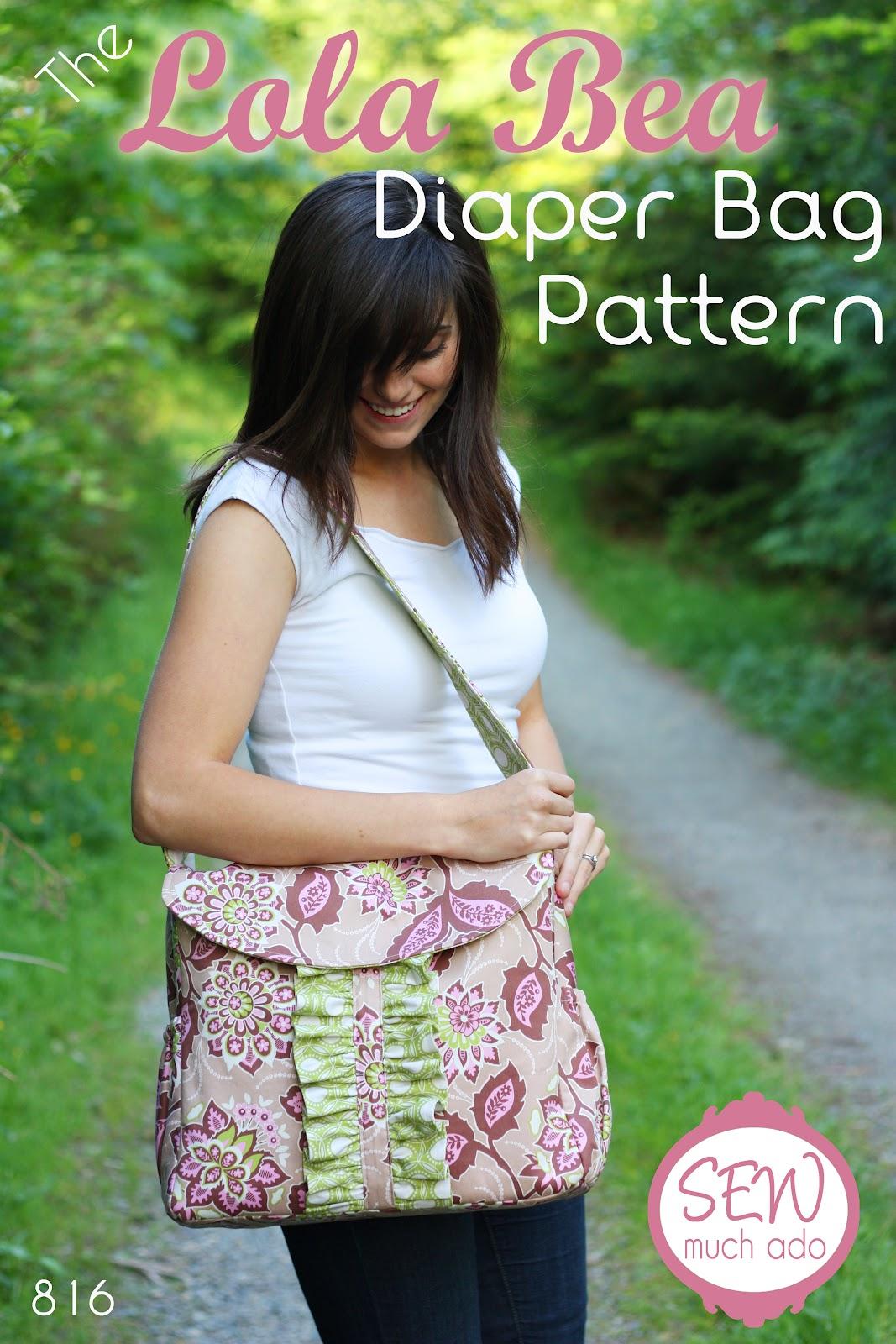Diaper Bag PDF Pattern