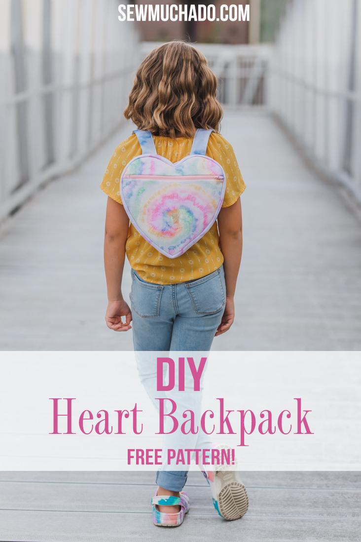 kids free backpack pattern